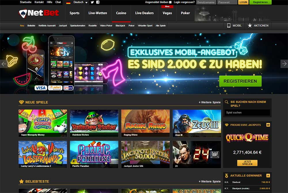 casino on net seriös